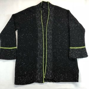 Express long knitted Cardigan SZ M